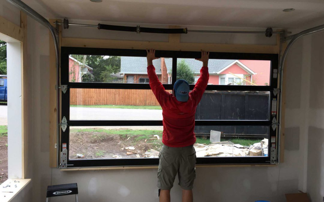 7 Steps to installing a garage door