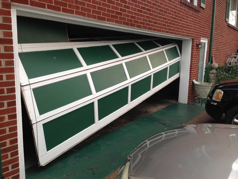 Off Balance Garage Door